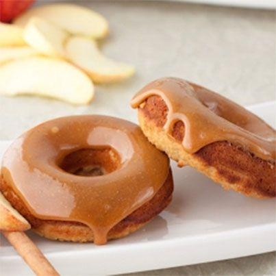 Caramel Apple Doughnuts
