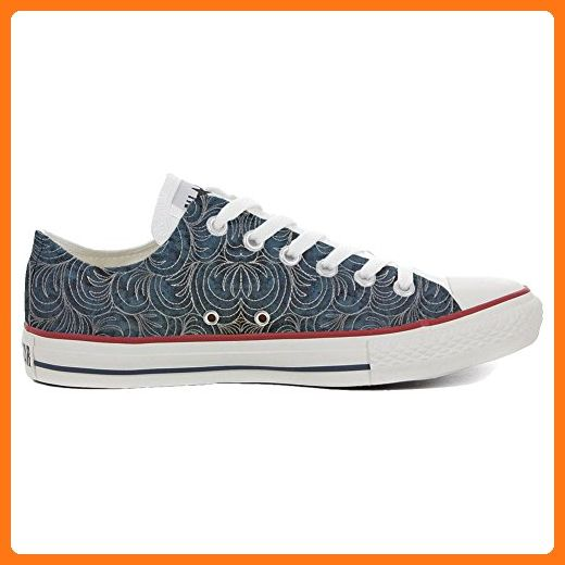 Converse Custom Slim personalisierte Schuhe (Handwerk Produkt) Light Paisley  35 EU