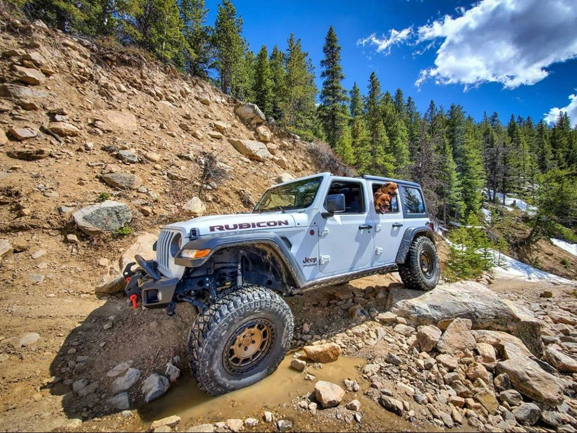 Lifted Jeep Wrangler Rubicon Jl Off Road In 2020 Mopar Lifted