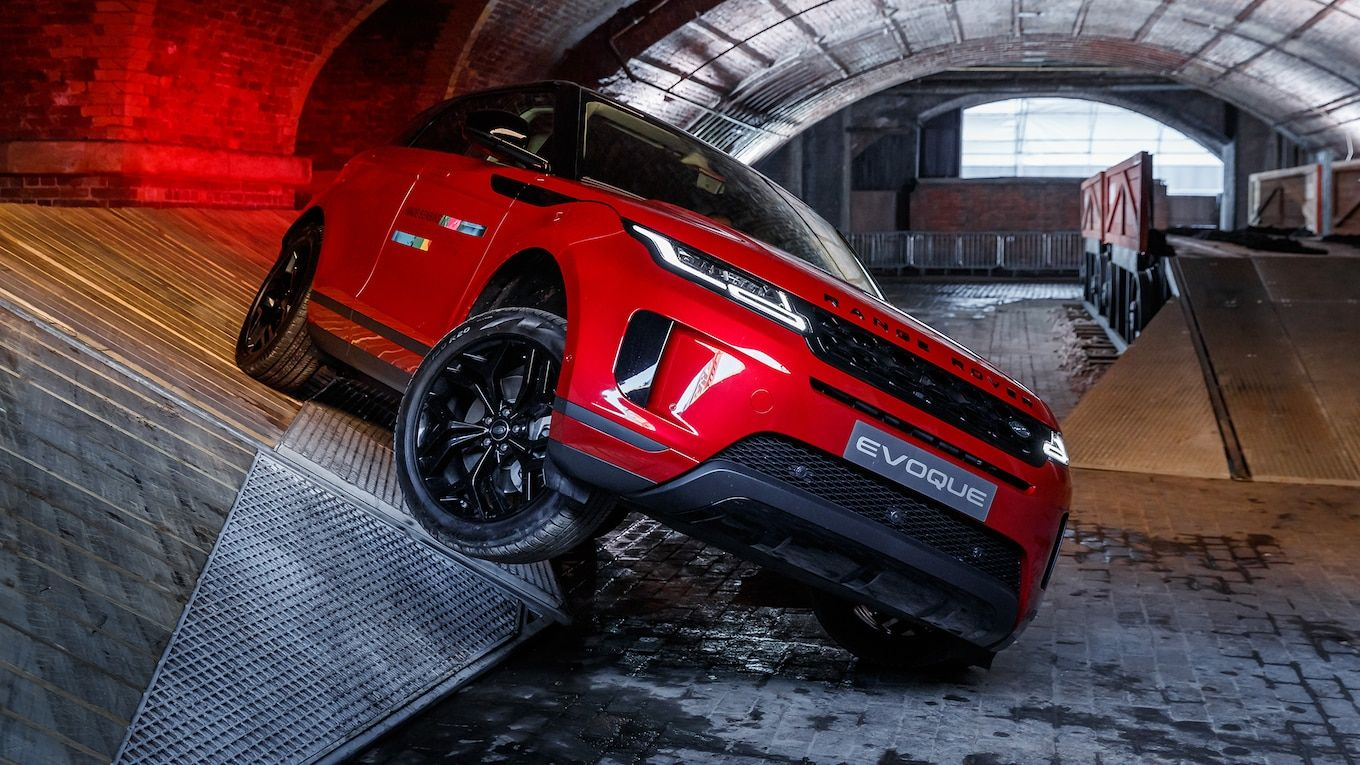 2020 Range Rover Evoque A Deeper Dive and Quick OffRoad