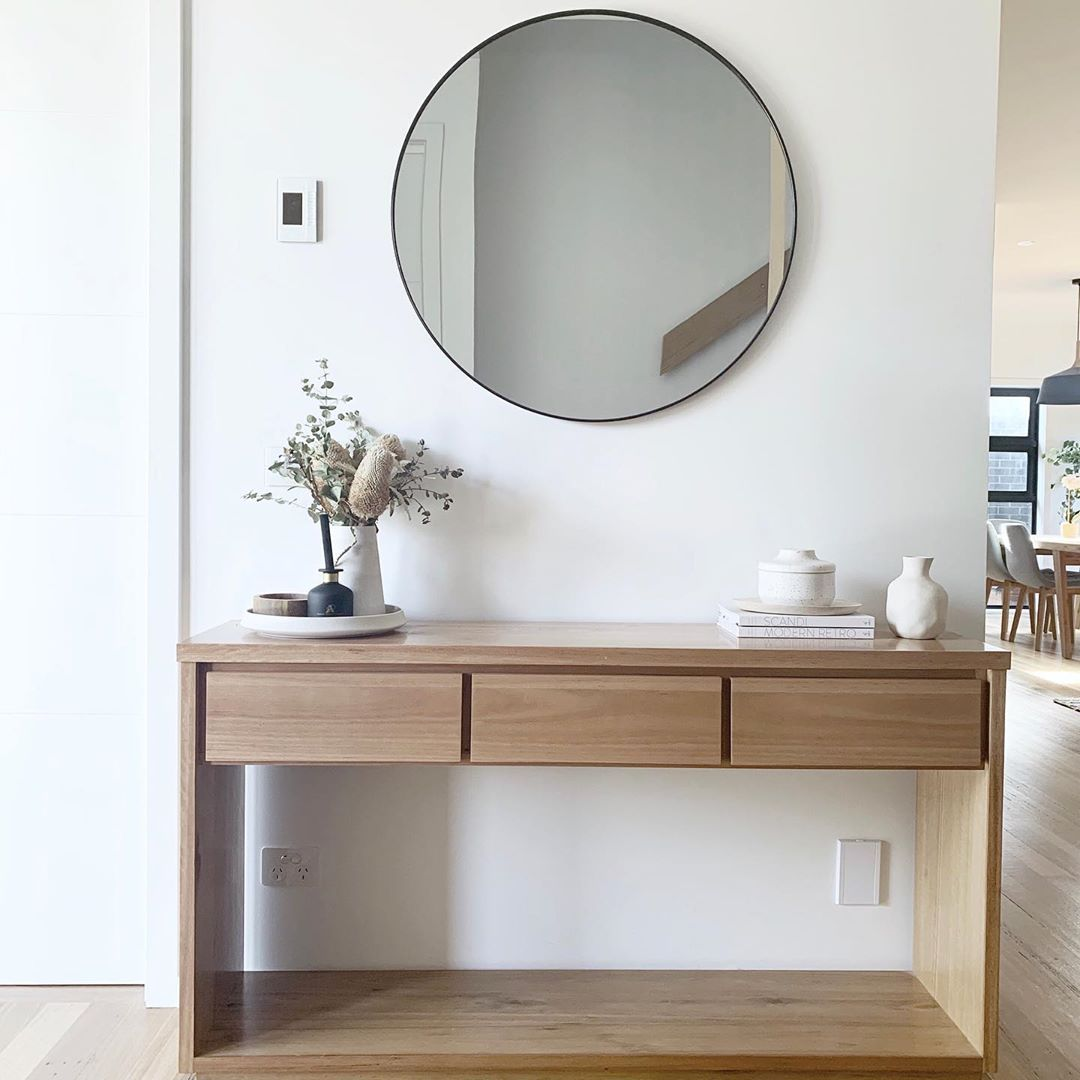 "Freedom Furniture NZ on Instagram: ""Make first impressions count with our Hensley console in your entrance way #thatsfreedom �: @peninsulaliving"""