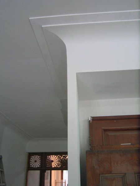 Curved Plaster Molding Plaster Mouldings Molding Ceiling House
