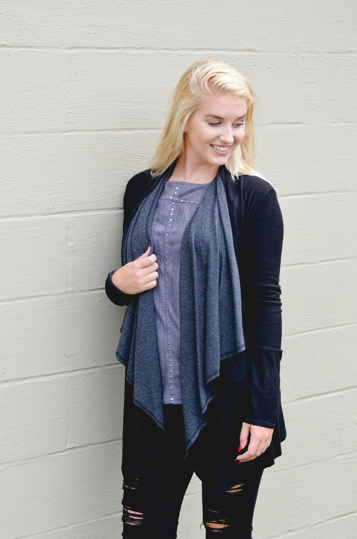 Everything Changes Reversible Cardi