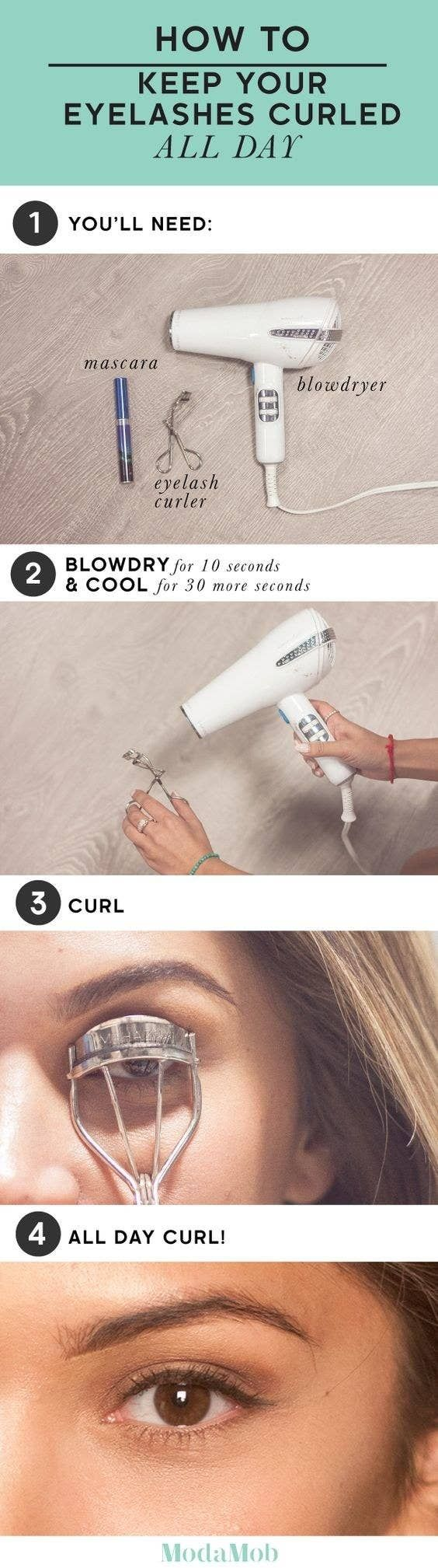 21 Ways To Make Your Makeup Last Forever in 2020 | Curling ...