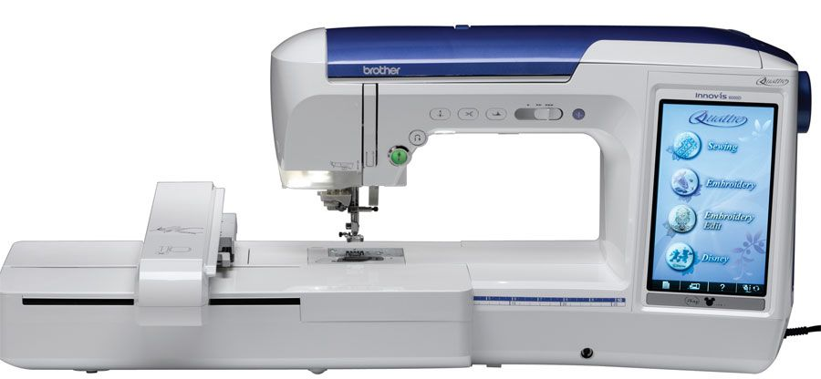 Brother Embroidery Machine Prices Brother Quattro 6000d