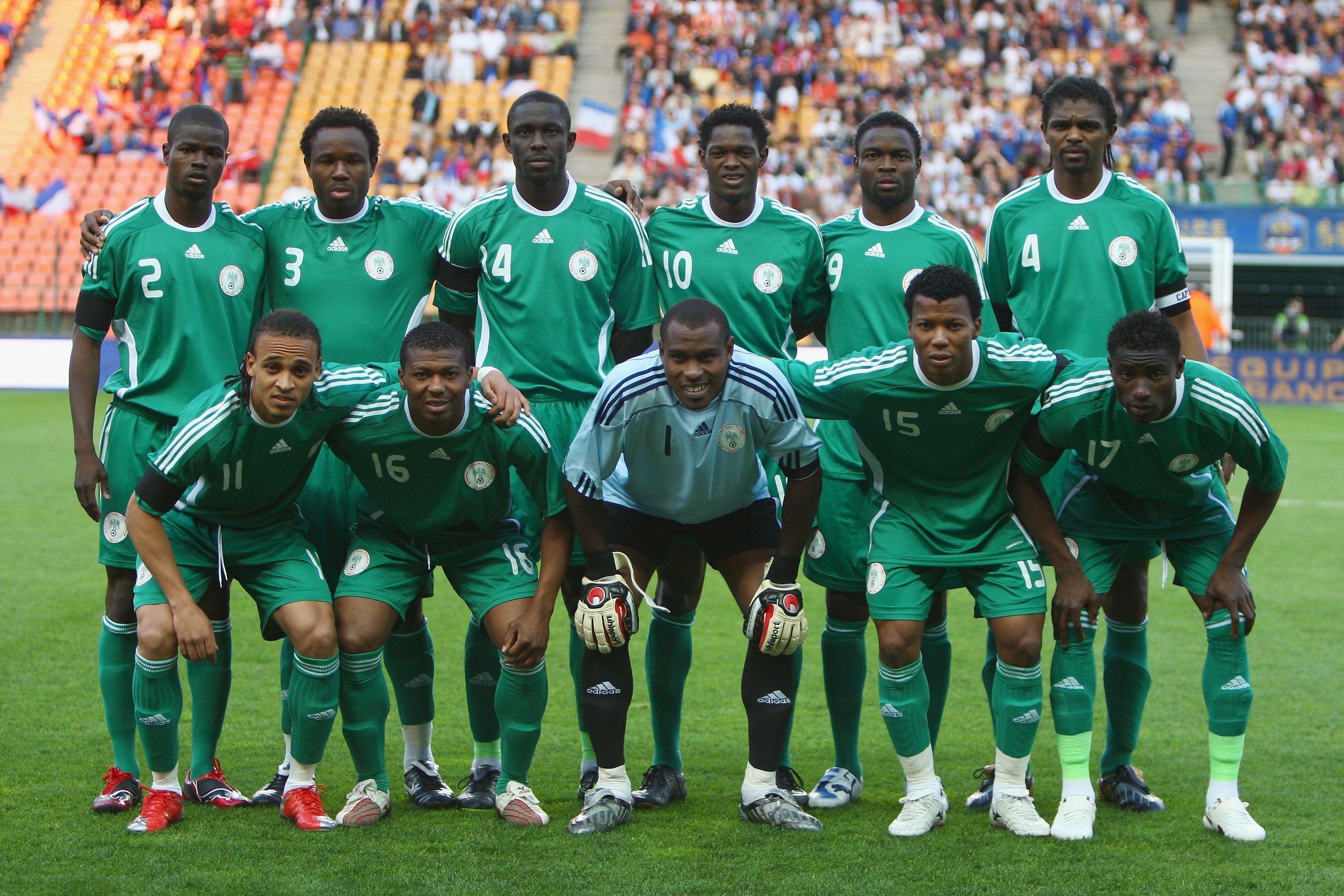 Nationalmannschaft Nigeria