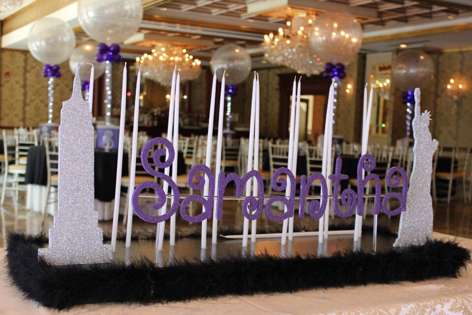 Candle Lighting Displays Party