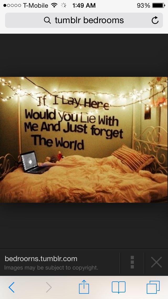 Bedroom quote