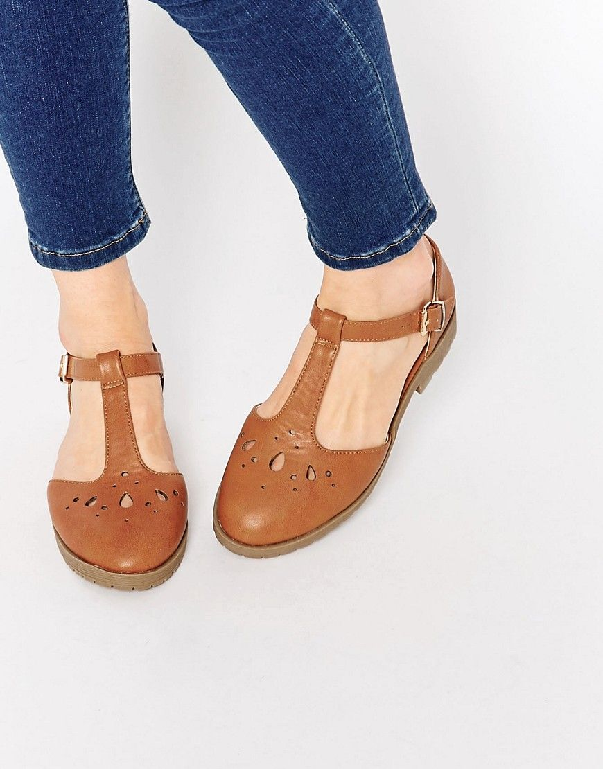 ASOS MAISON Flat Shoes at asos.com