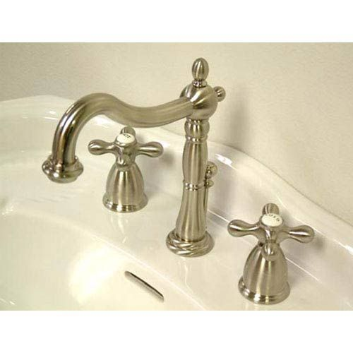 Elements of Design New Orleans Satin Nickel Bathroom Faucet with ...