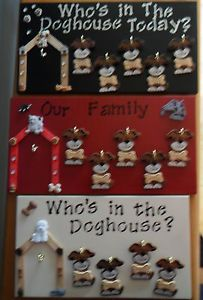 Personalized Who S In The Doghouse Today Vintage Style Family