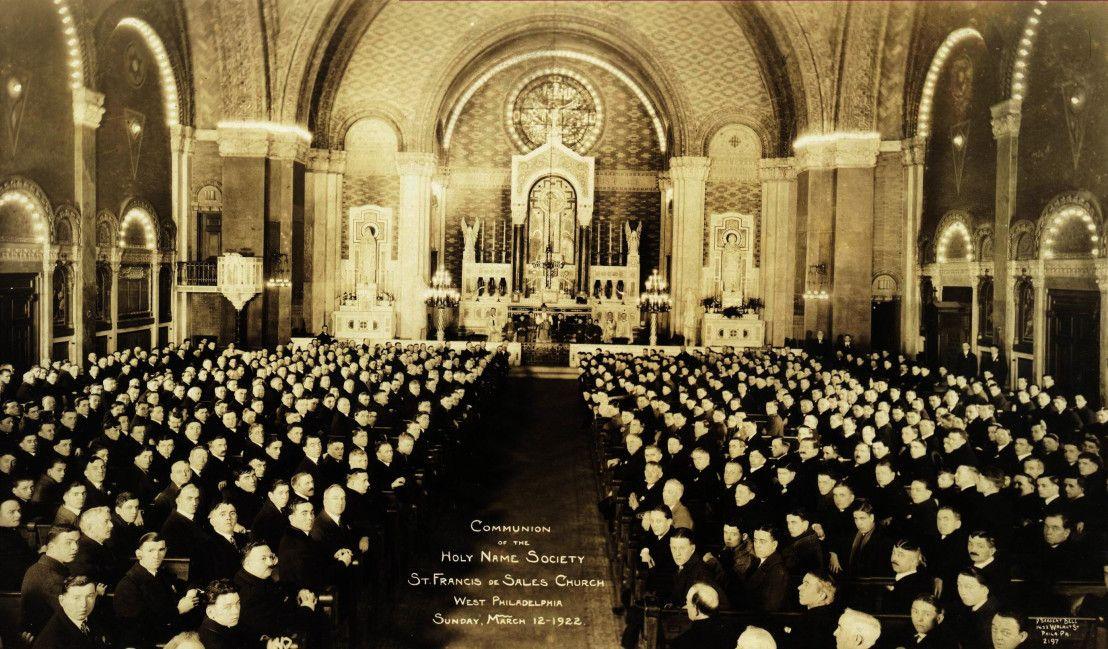 Saint Francis De Sales Church History Committee Philadelphia Pa St Francis De Sales St Francis Mystery Of History