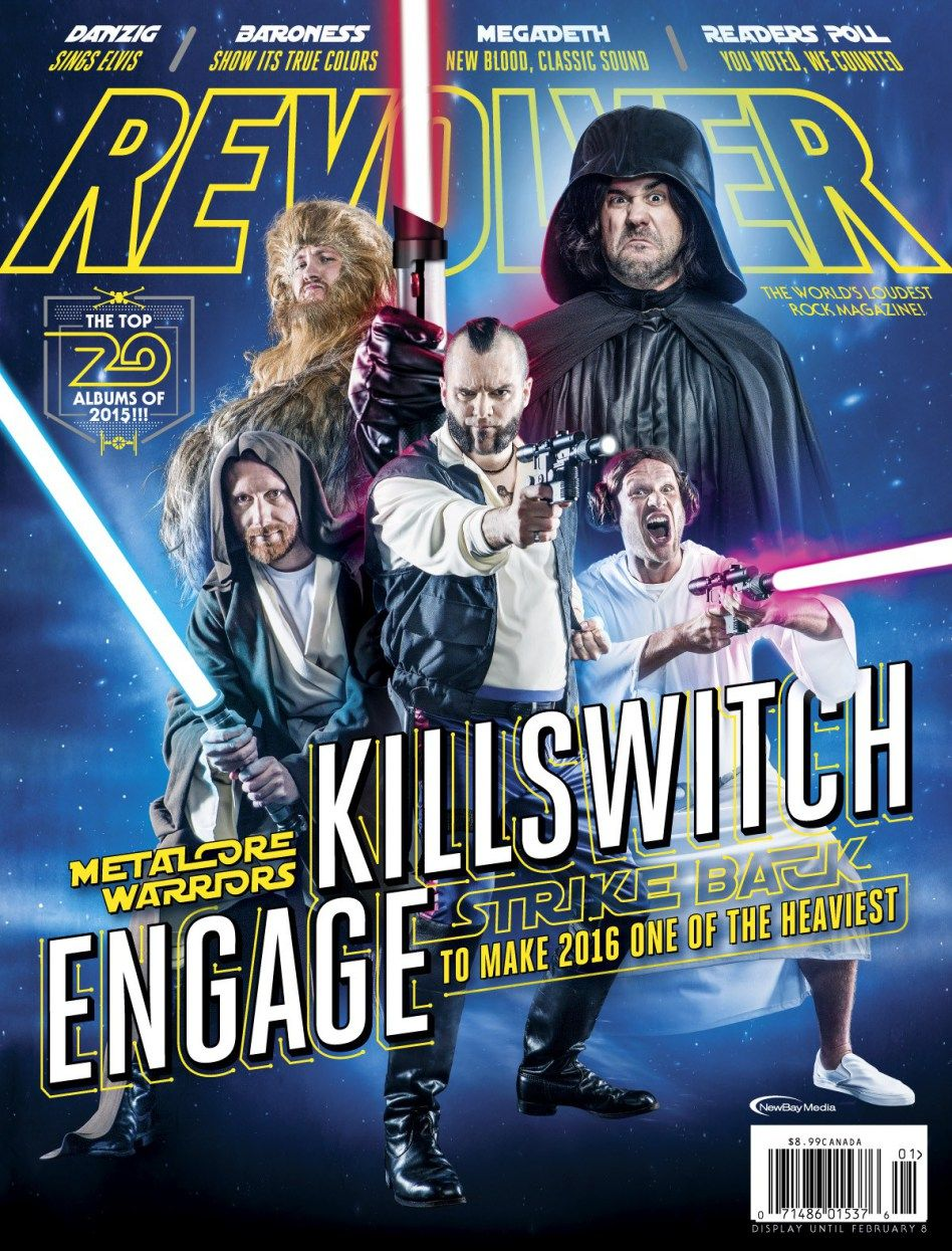 Killswitch Engage Revolver Stars Wars Cover Large
