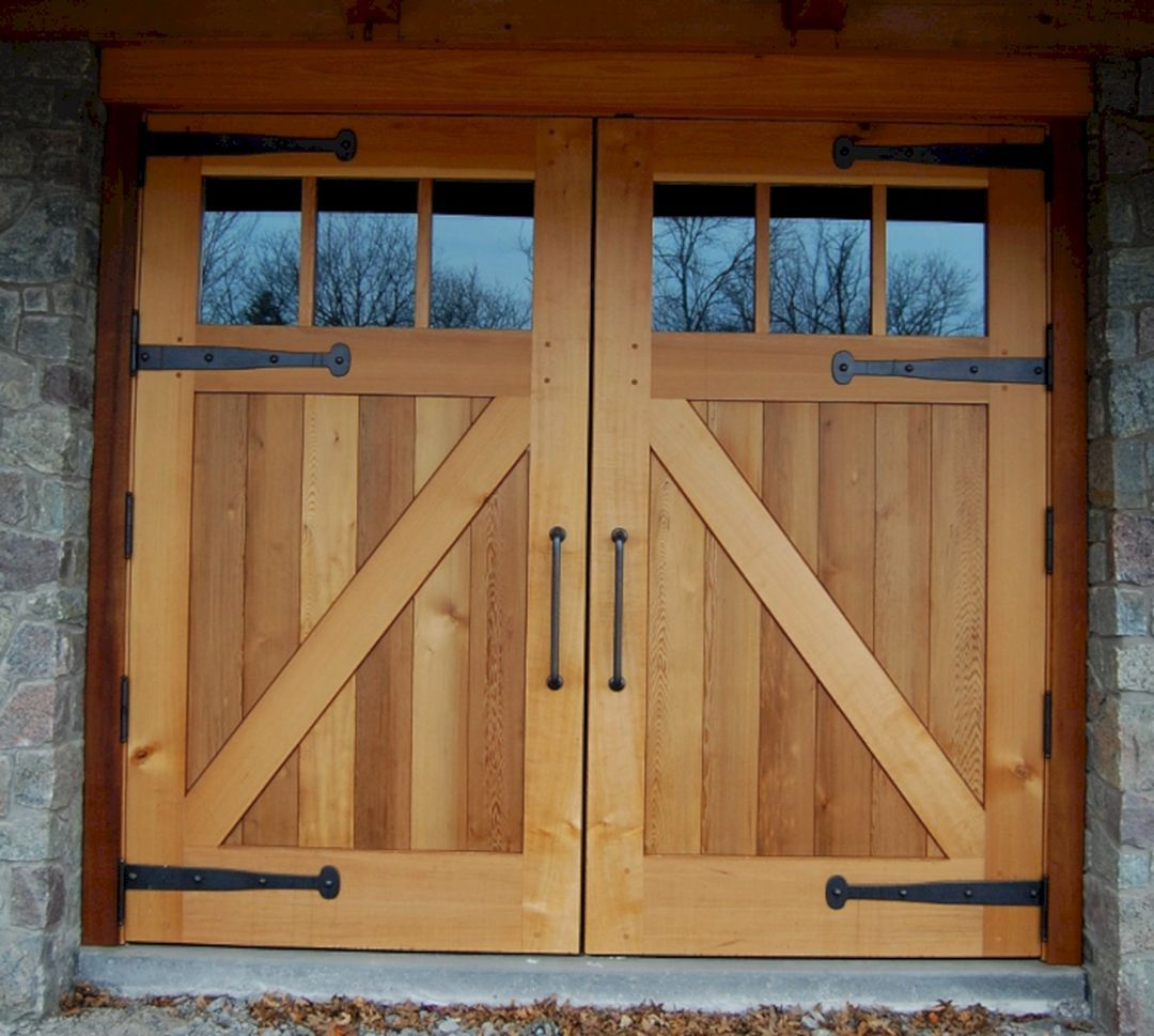45 A Gorgeous Barn Door Design Ideas Freshouz Com Exterior Barn Doors Garage Door Design Barn Door Designs