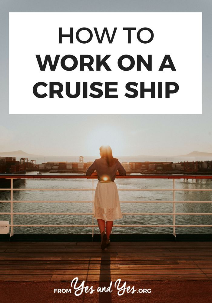 How To Work On A Cruise Ship -