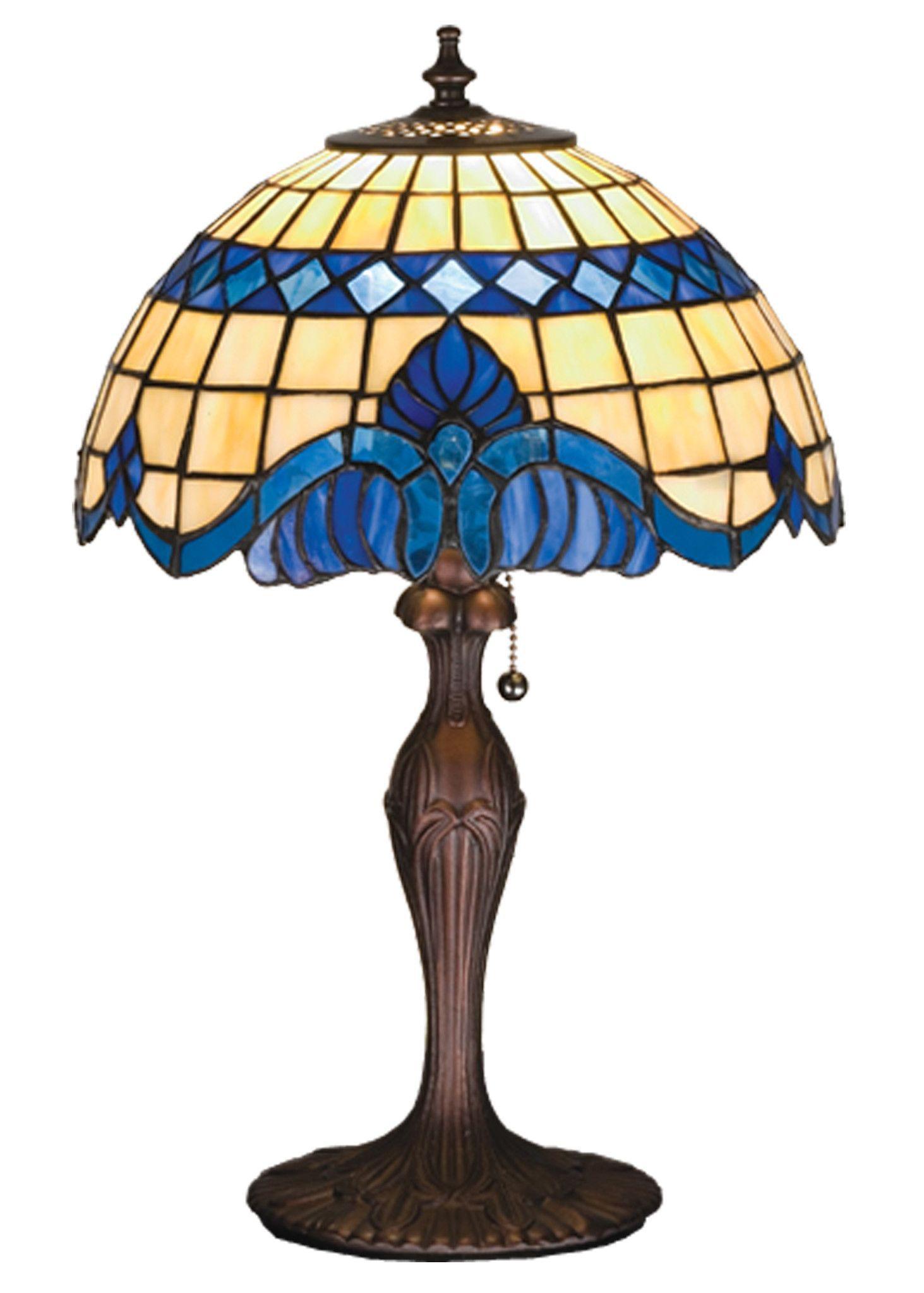 "Meyda 18.5""H Baroque Accent Lamp"