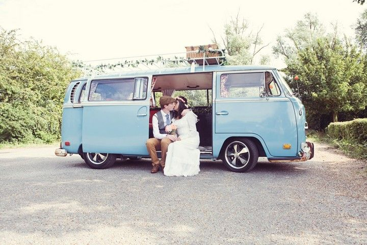 Alheli and Shaun's DIY Wedding with a 70s Dress Planned in 2 months By Sue Kwiatkowska