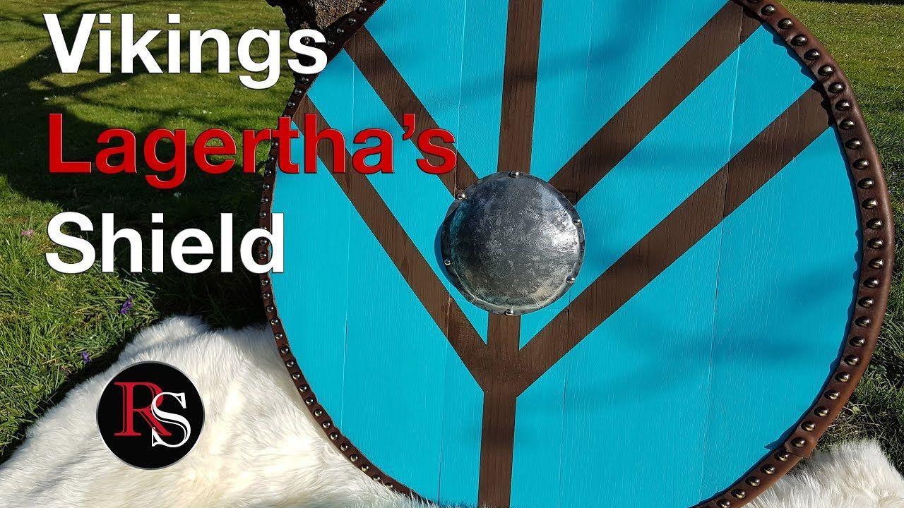 Diy How To Make A Viking Round Shield Lagertha S Shield From Vikings Viking Shield Viking Party Vikings