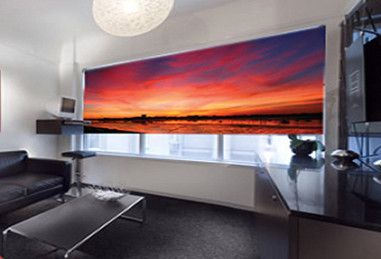 Printed Window Blinds Made From An Hp Large Format Printer