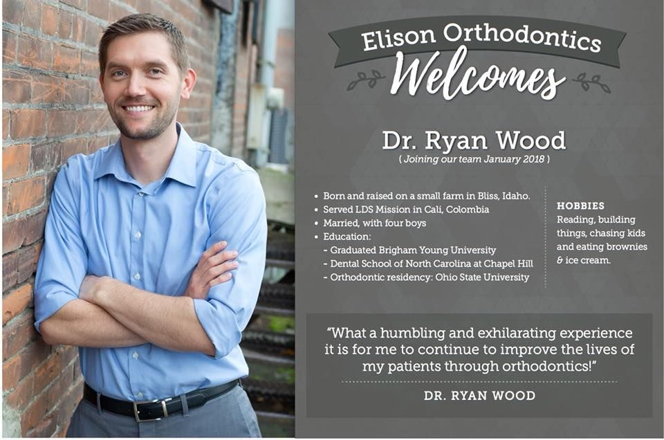 We are so excited to announce dr wood joining our