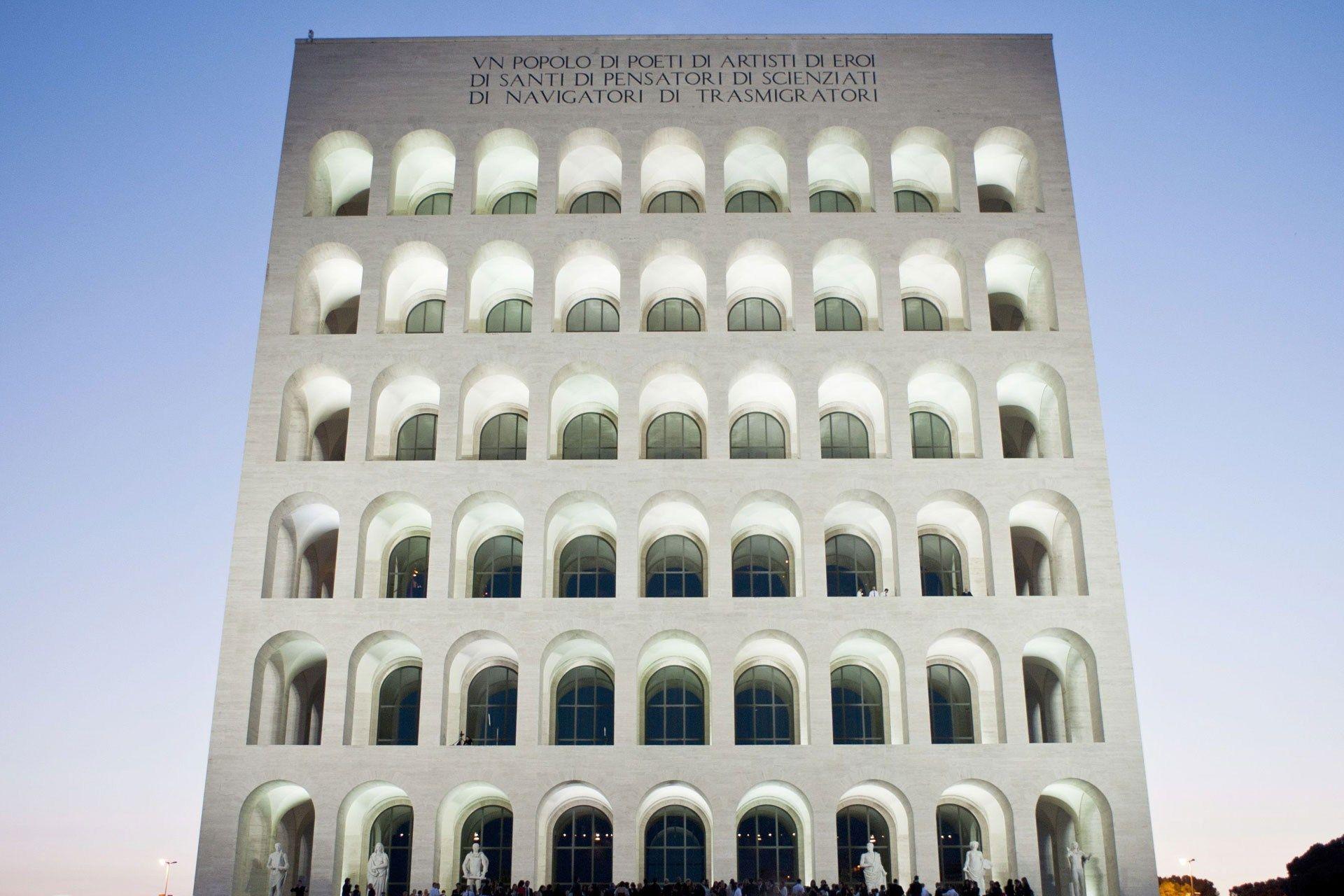 Fendi Moves Headquarters To The Palazzo Della Civilta Italiano In Rome