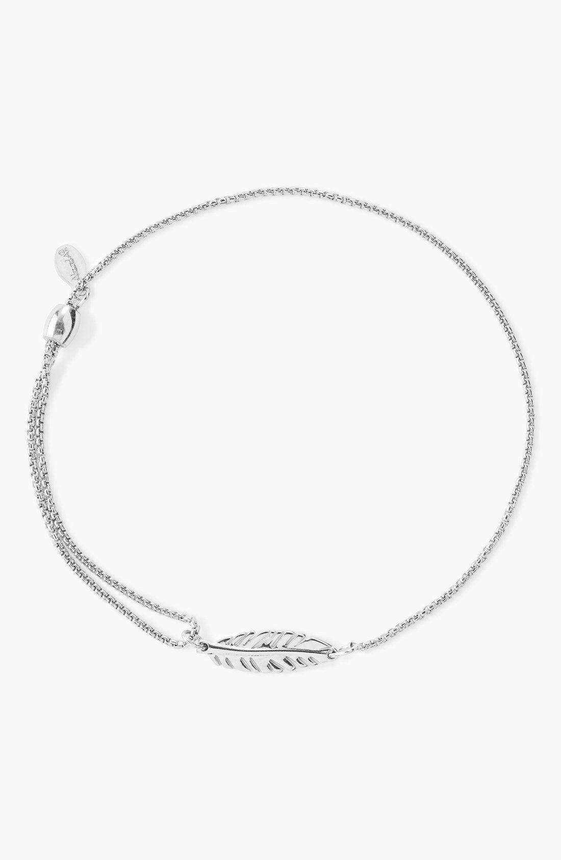 Alex And Ani Pull Chain Cross Bracelet Fascinating Alex And Ani 'providence' Feather Pull Chain Bracelet  Nordstrom Decorating Inspiration