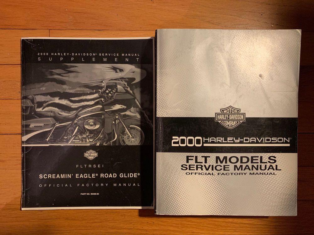 2000 Harley Davidson Flt Shop Service Repair Manual Harley Davidson Parts And Accessories Harley