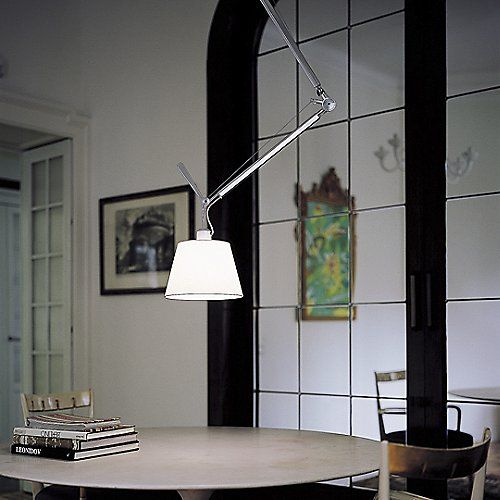 Tolomeo 17 Inch Off Center Suspension By Artemide At Lumens Com Artemide Lamp Artemide Lighting Artemide