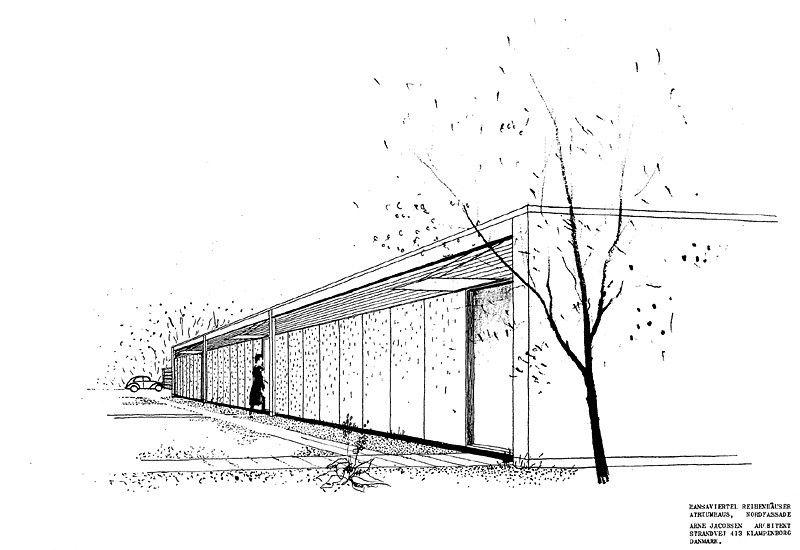 Moderne architektur skizze google suche architecture for Modernes haus skizze