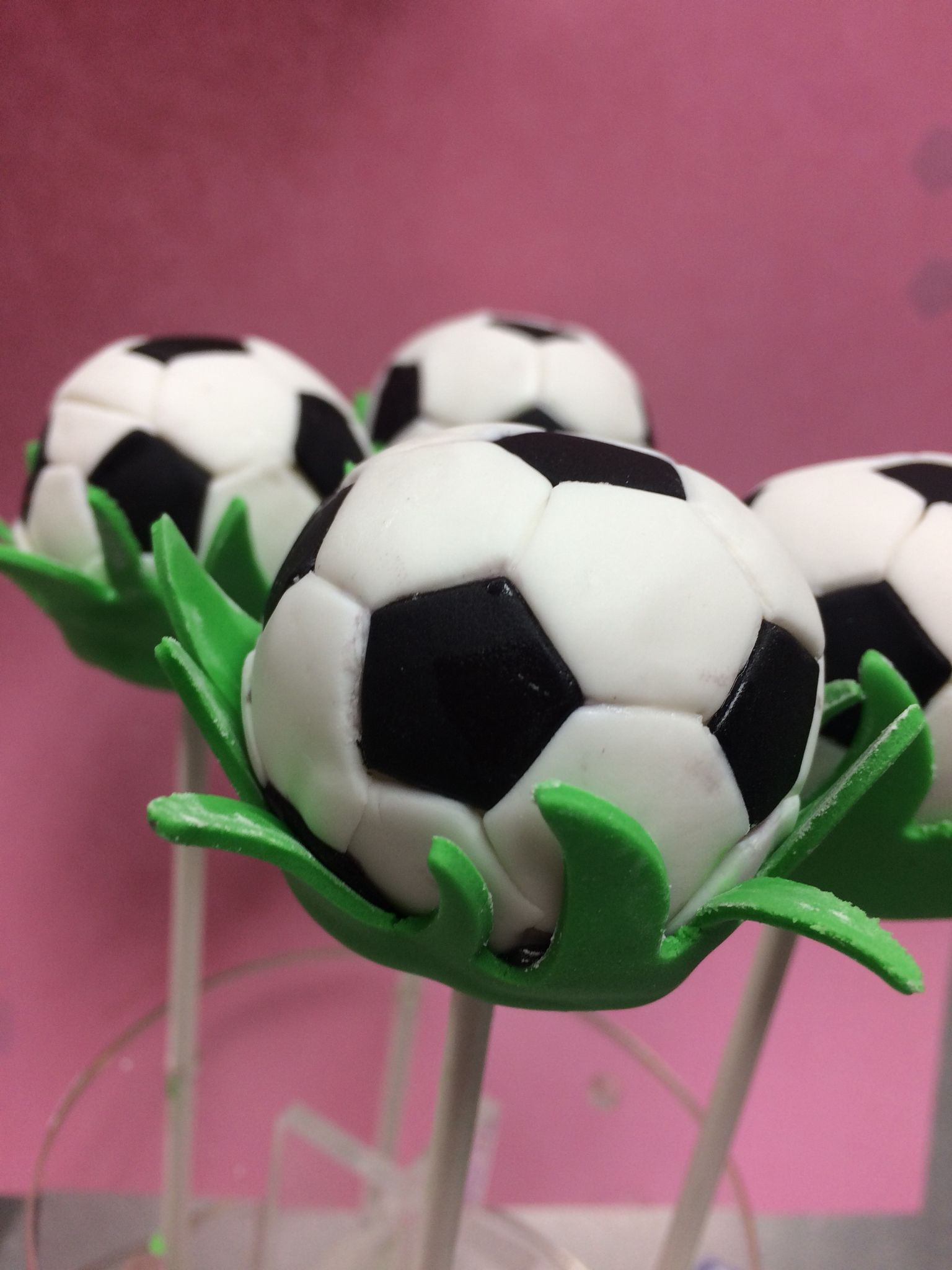 Soccer Cake Pops Soccer Cake Pops Soccer Cake Cake Pop Decorating