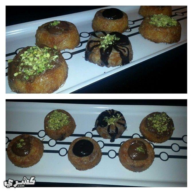 طريقة عمل كنافة بالشيكولاته Food Koshari Breakfast