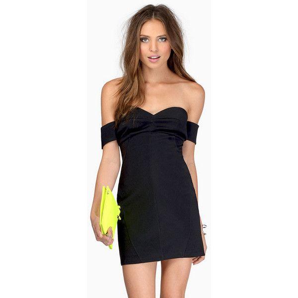 Tobi Hug Me Tight Bodycon Dress (€27) ❤ liked on Polyvore