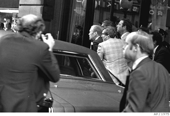 Image result for president gerald ford second assassination attempt
