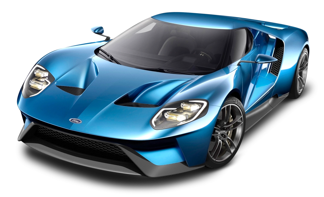 Blue Ford GT Car PNG Image in 2020 Ford gt, Ford gt 2017