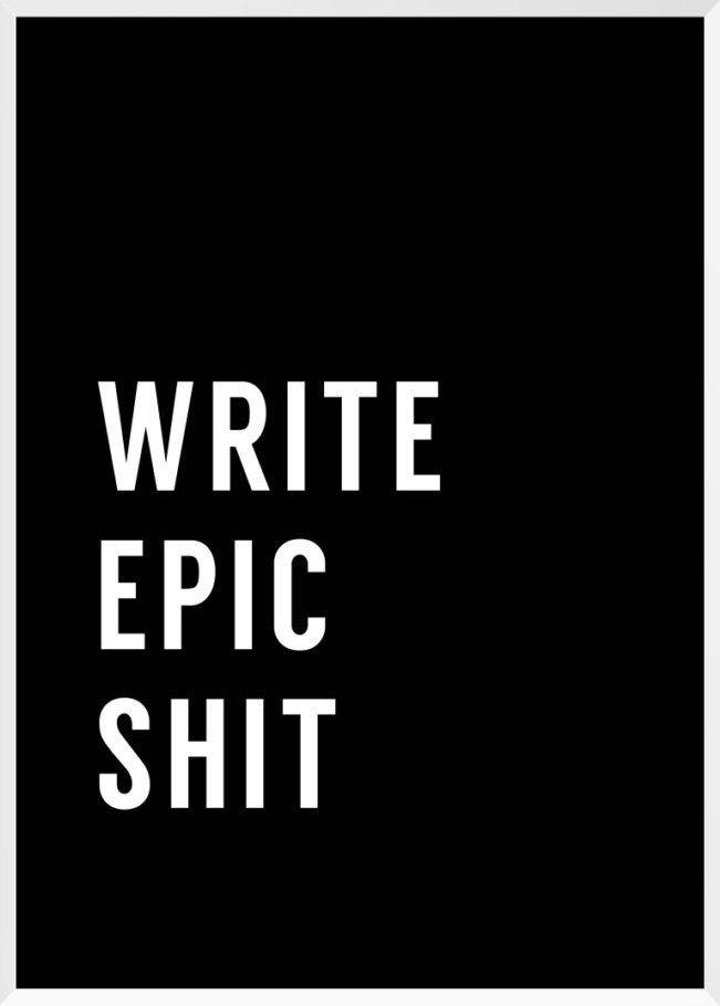 Write Print by keileo