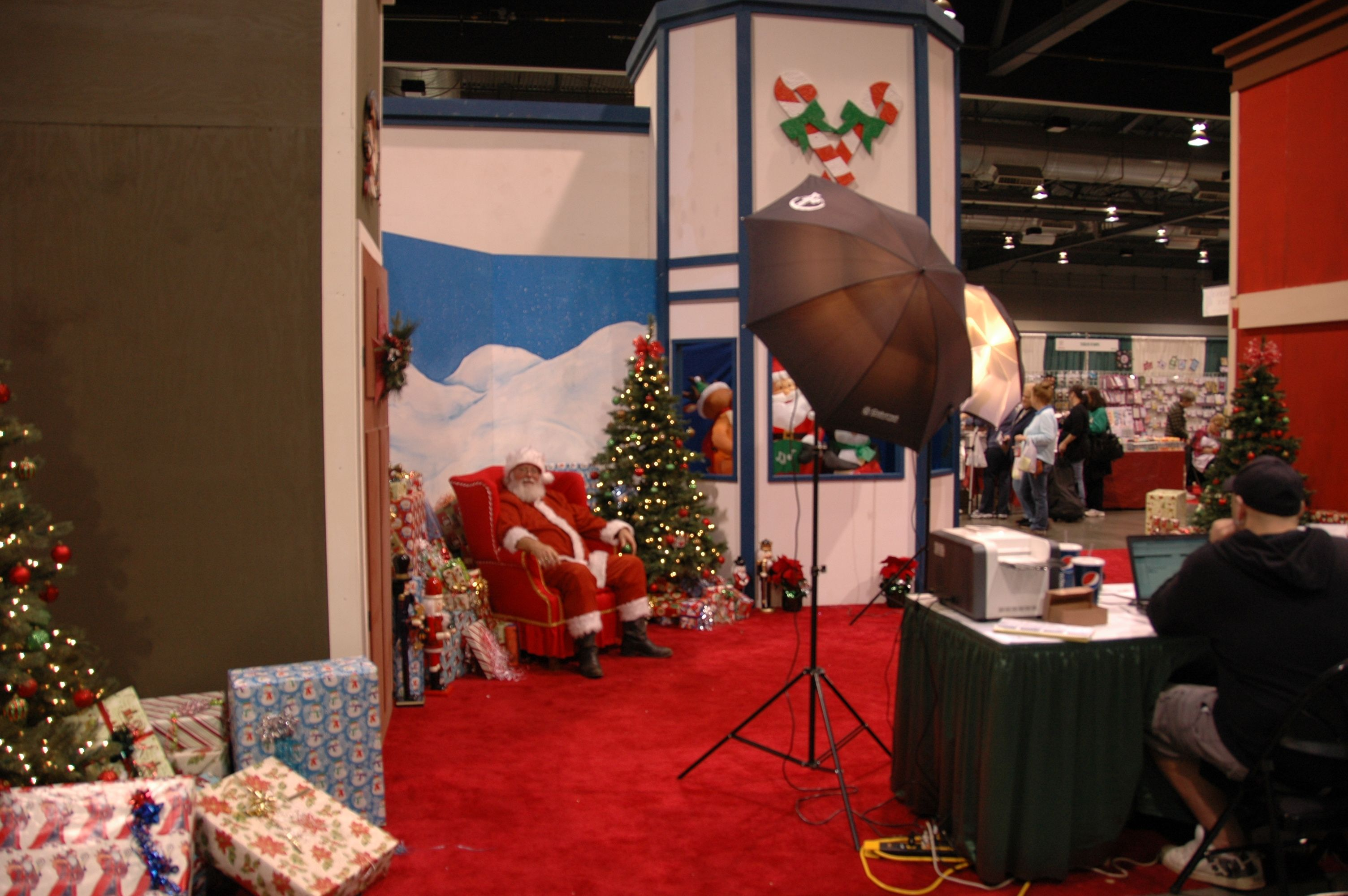 Come see Santa at the America's Largest Christmas Bazaar | Santa's ...