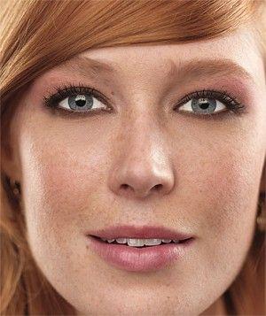 Flattering Pink Makeup  -realsimple
