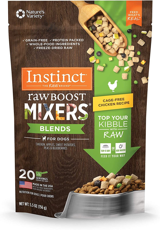 Instinct Freeze Dried Raw Boost Mixers Grain Free Lamb All