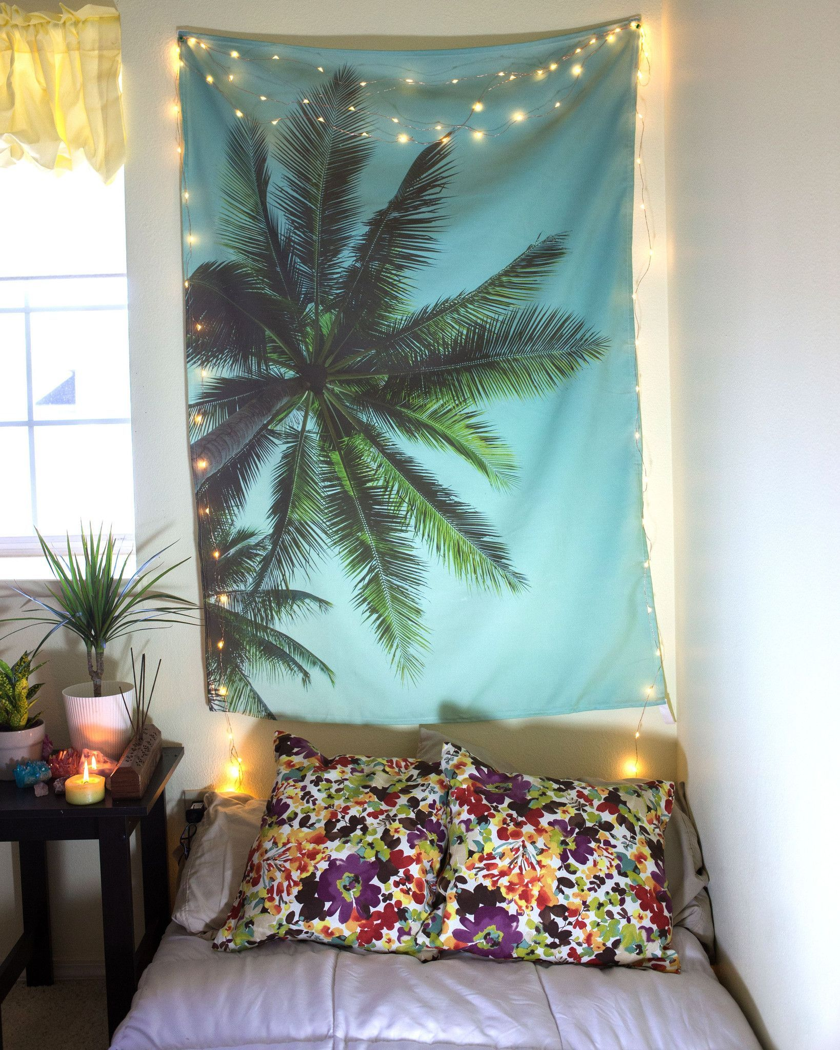 """Summer Palm Tree Tapestry from thebohemianshop.com - Save 15% OFF your order using coupon code """"SAVE15"""""""