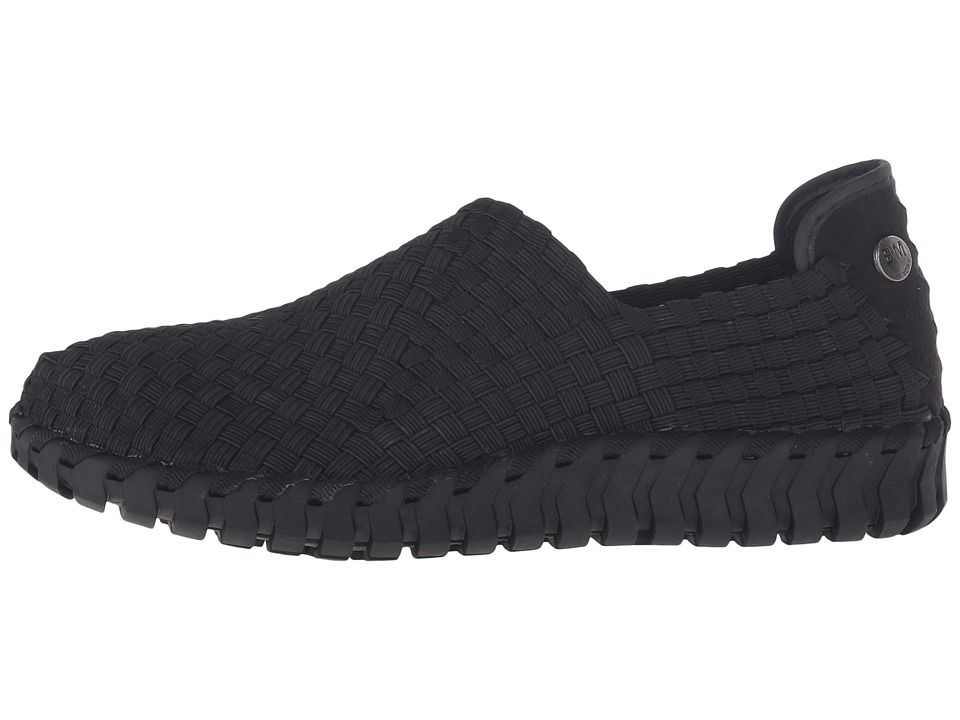 Bernie Mev Tread Candy Women S Flat Shoes Black Black