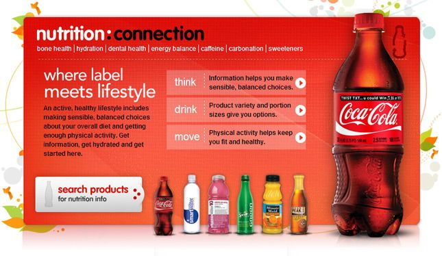 Nutrition Labels for Coca Cola Products. Just and FYI.. http://www.thecoca-colacompany.com/us_nutrition.html