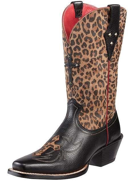 3881726ad15 Ariat Boots Legend Spirit 10010171 Black Deertan Womens, $189.95 ...