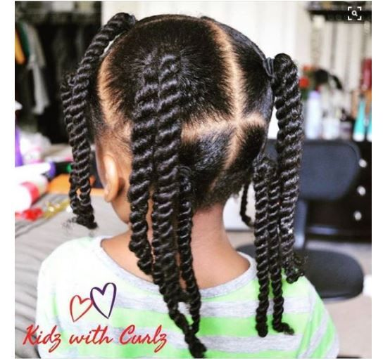 8 Simple Protective Styles For Little Girls Headed Back To -2615