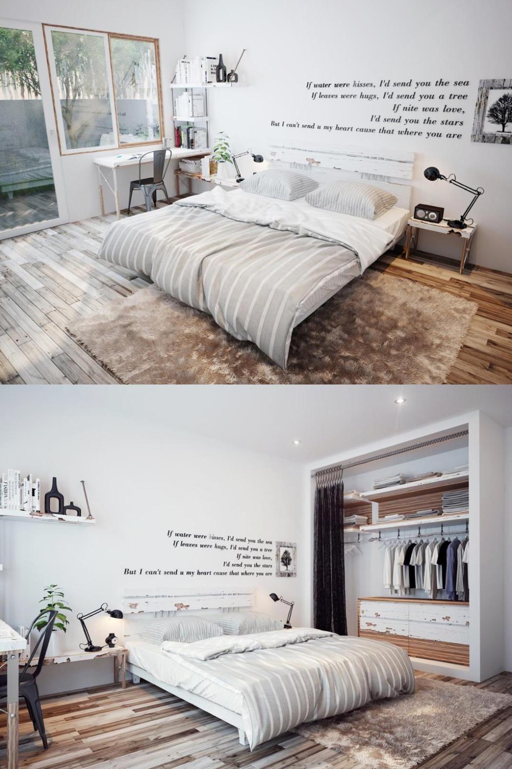 Décoration de chambre Scandinave : Idées et Inspirations  Chambre
