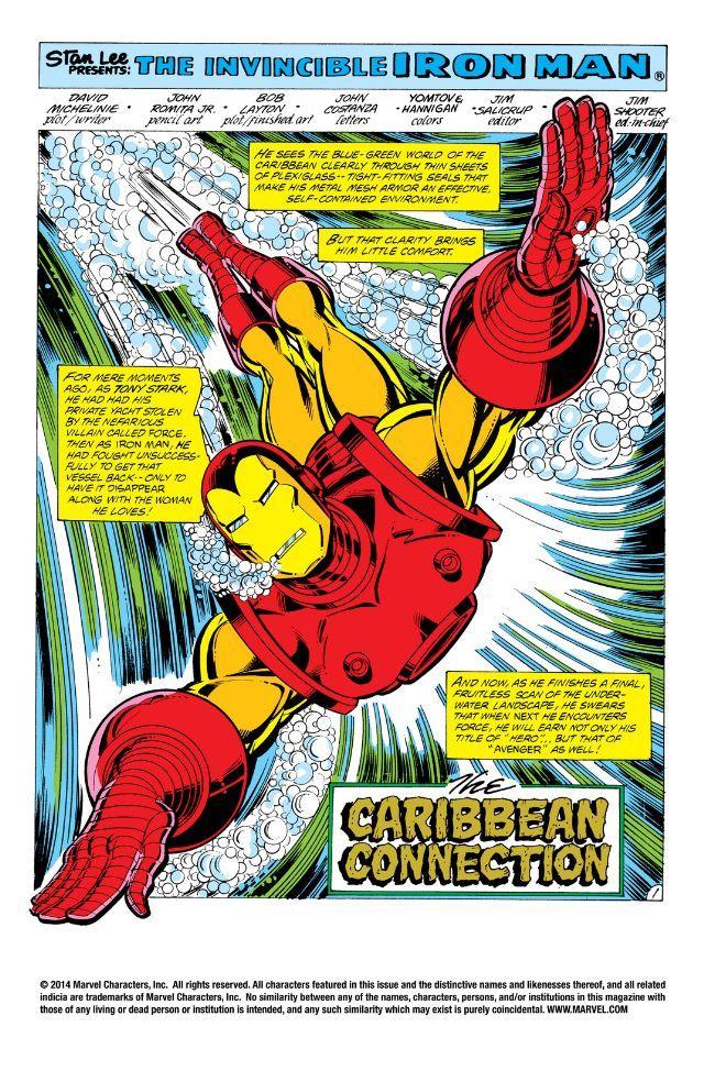 Iron Man 1968 1996 141 Comics By Comixology Iron Man Iron Marvel Comics Art