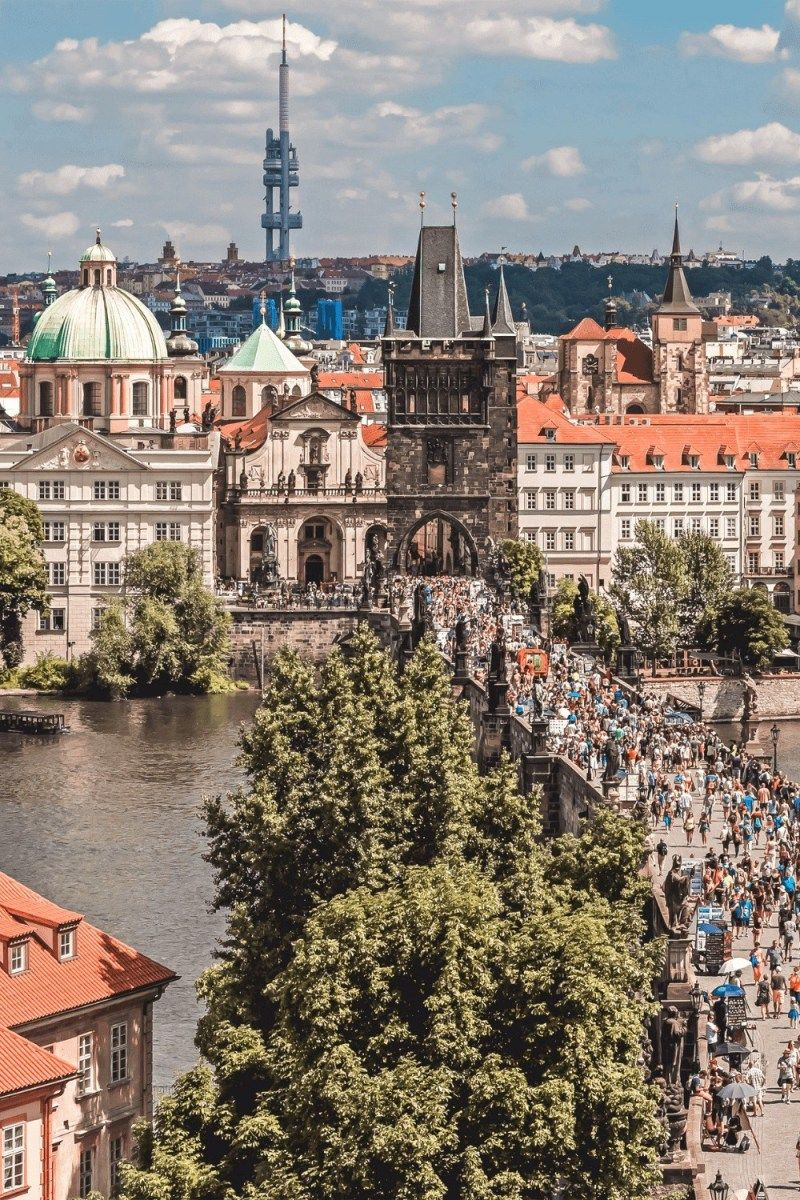Best Rooftop Views In Prague The Travelling Frenchy Prague Travel Prague Rooftop