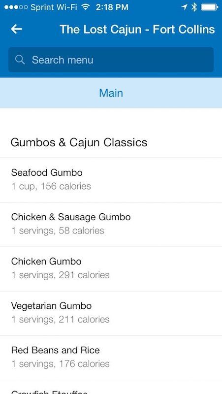 MyFitnessPal can now help you find a restaurant based on