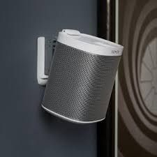 Why Not Wall Mount Your Sonos Play 1 Speaker Sonos Wall Sonos Sonos One