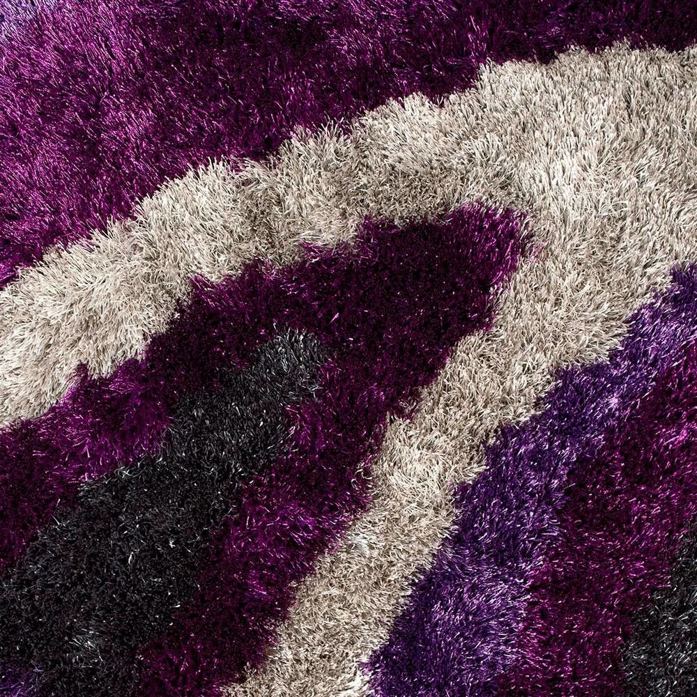 Flash Shaggy 654 Lilac RUG