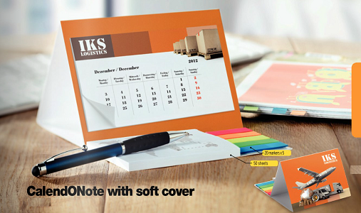Personalised CalendONote, a great business gift that will stand out and reward loyal customers : http://www.promotion-specialists.com/personalised-promotional-calenders/ 	#Business #Promotions #Marketing